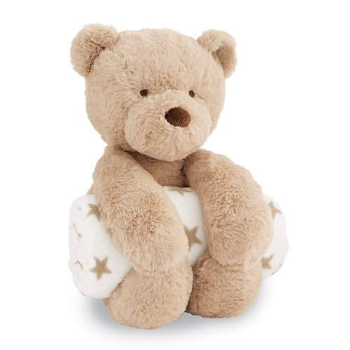 Bear Plush with Blanket