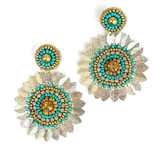 Allie Beads, Marie Earrings