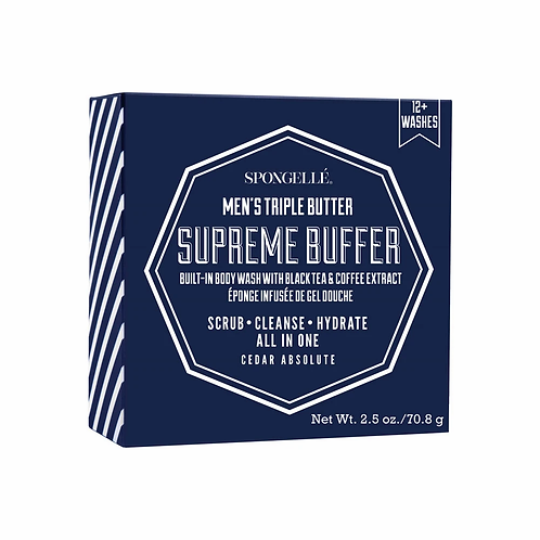 Spongelle Men's Triple Butter Supreme Buffer