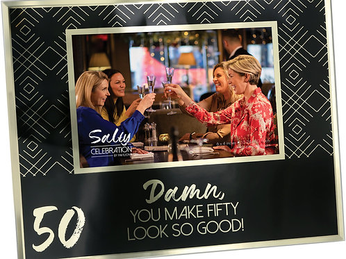 50th Birthday Frame