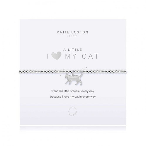 Katie Loxton, A Little I <3 My Cat Bracelet