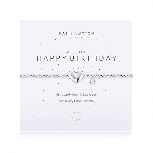 Katie Loxton, A Little Happy Birthday Bracelet