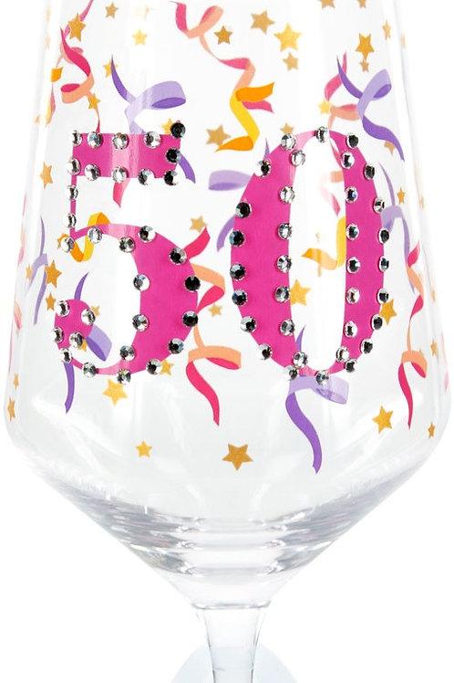 Gemstone Wine Glass, 50