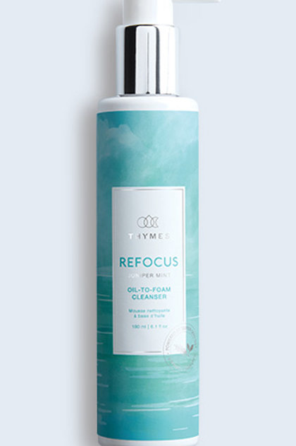 Thymes, Refocus Oil-To-Foam Cleanser