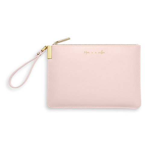 Katie Loxton, Secret Message Pouch, Mom in a Million Pink