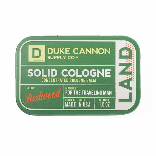 Duke Cannon, Solid Cologne, Land