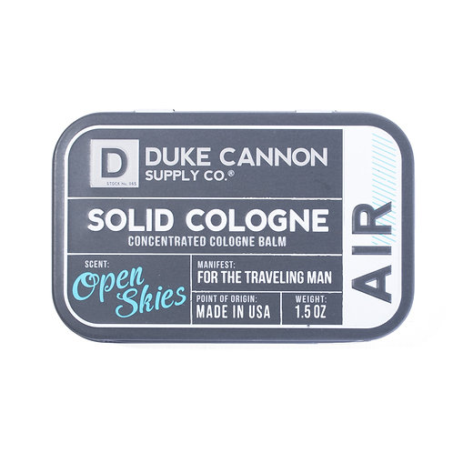 Duke Cannon, Solid Cologne, Air