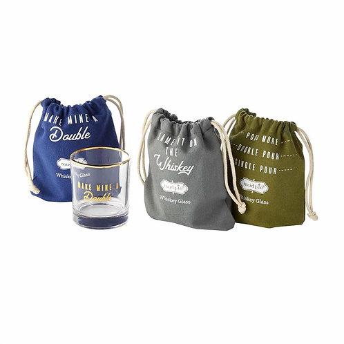 Bagged Whiskey Glasses