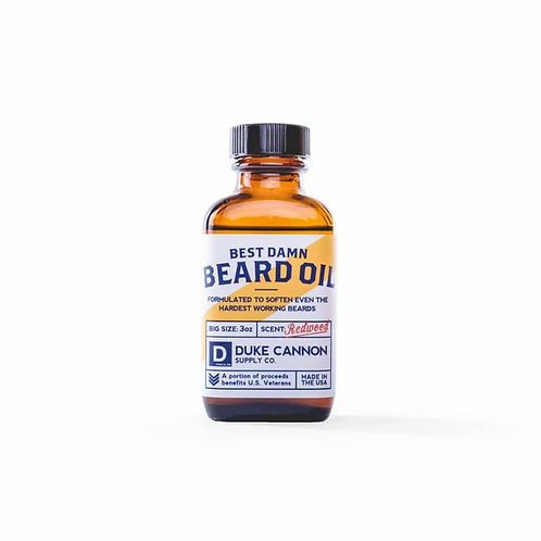 Duke Cannon, Best Damn Beard Oil