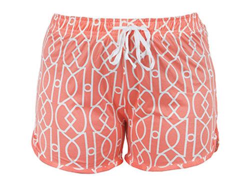 Hello Mellow Coral Shorts