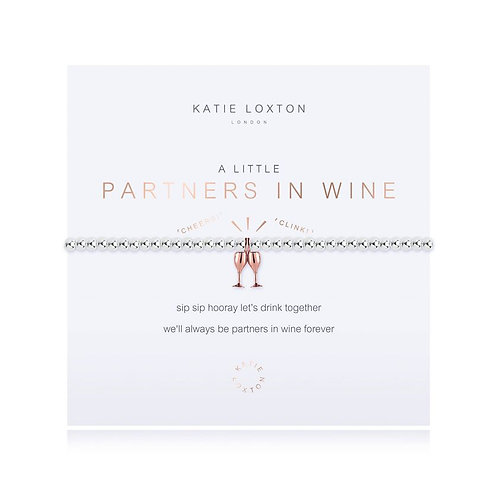 Katie Loxton, A Little Partners in Wine Bracelet