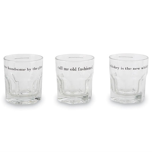 Whiskey Glass Stone Sets