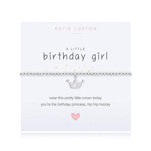 A Little Birthday Girl Bracelet