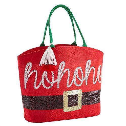 Santa Christmas Tote Bag