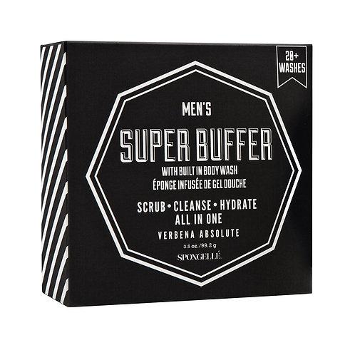 Spongelle Men's Super Buffer, Verbena Absolute