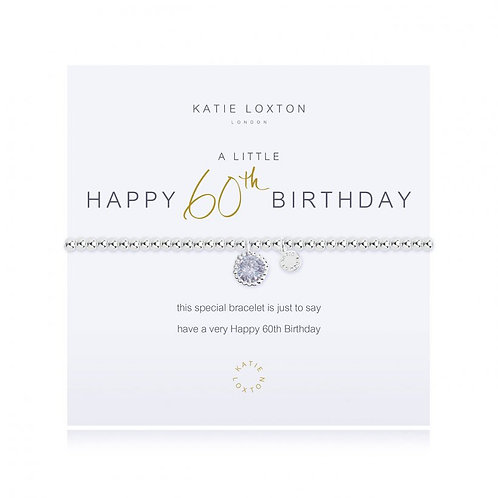 Katie Loxton, A Little 60th Birthday Bracelet