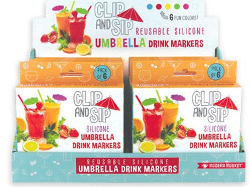 Umbrella Drink Markers