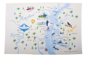 Chesapeake Bay Kitchen Towel