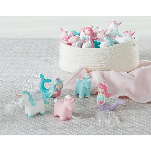 Unicorn Mermaid Bath Toys