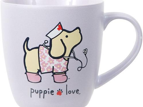 Puppie Love Nurse Mug