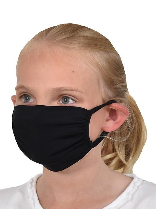 Southwind Apparel Black Kids Mask