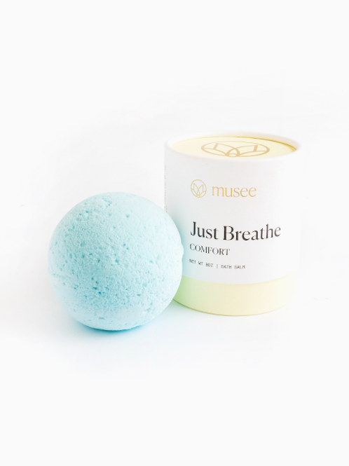 Musee Comfort Boxed Bath Balm, Just Breath
