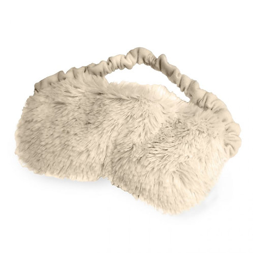 Warmies Plush Eye Mask, Cream
