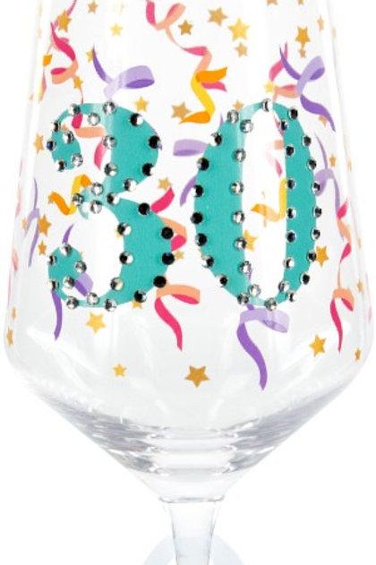Gemstone Wine Glass, 30
