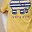 Thumbnail: Ivory Ella Regular Fit Bande Tee