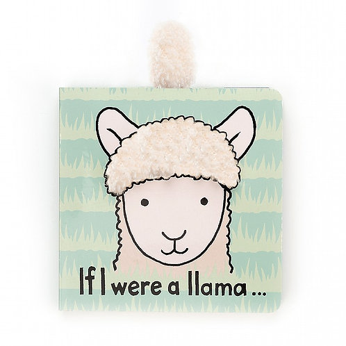 Jellycat, If I Were A Llama Book