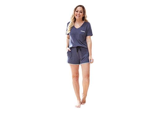 Hello Mellow Weekender Navy Shorts