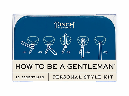 Men's Survival Kit, How To Be A Gentleman