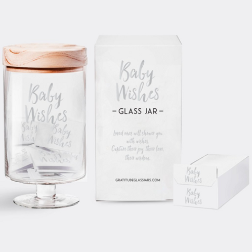 Gratitude Collection, Baby Wishes Glass Jars