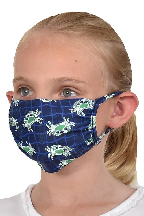 Southwind Apparel Kelly Crab Kids Mask