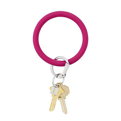 O-Venture, Silicone Jewel Tone Big O Key Rings