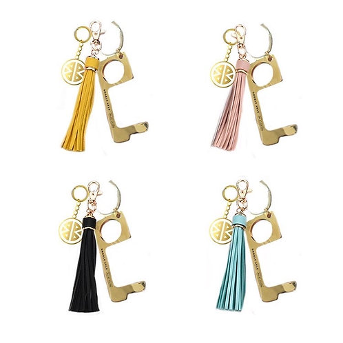 Pieces of Me, Don't Touch That Tassel Keychains