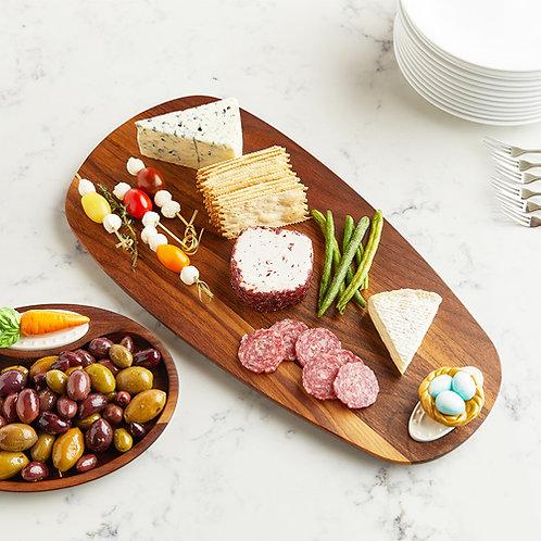 Nora Fleming Walnut Tasting Board