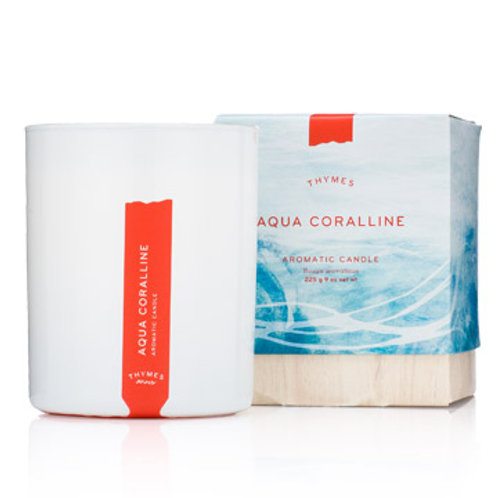 Thymes, Aqua Coralline Candle