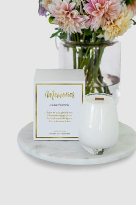 Gratitude Collection, Memories Candle