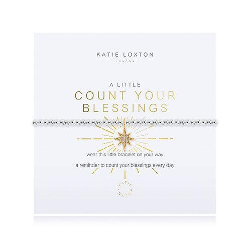 Katie Loxton, A Little Count Your Blessing Bracelet