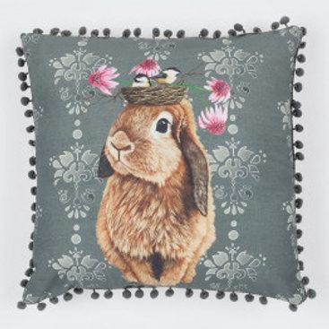 Bubblegum Bunny Pillow