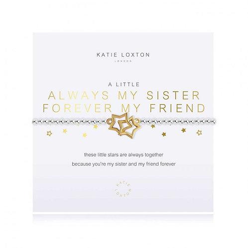 Katie Loxton, A Little Always My Sister Bracelet