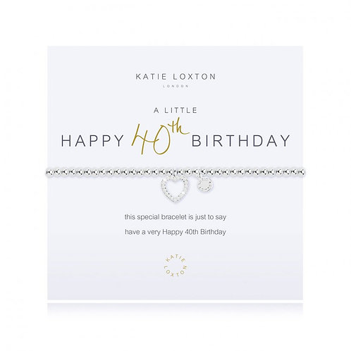 Katie Loxton, A Little 40th Birthday Bracelet