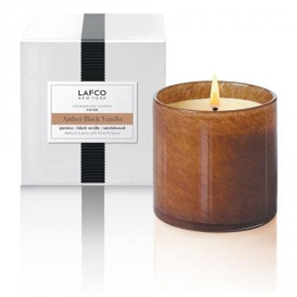 Lafco Candle, Amber Black Vanilla