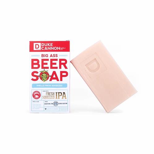 Duke Cannon, Big Ass Bar of Soap, Deschutes Fresh Squeezed IPA