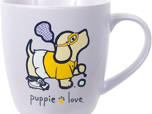 Puppie Love Lacrosse Mug