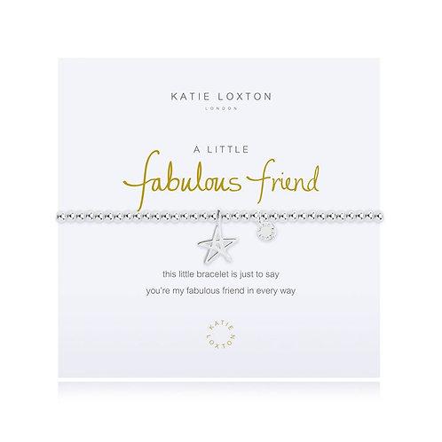 Katie Loxton, A Little Fabulous Friend Bracelet