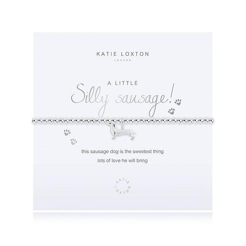 Katie Loxton, A Little Silly Sausage Bracelet