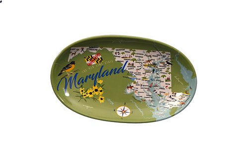 Maryland Melamine Tidbit Tray
