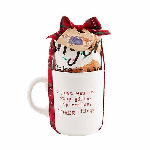 Gingerbread Mug Cake Gift Set